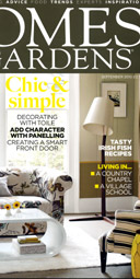 editorial in Homes and Gardens