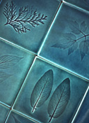 leaf tiles by mark pedro de la torre